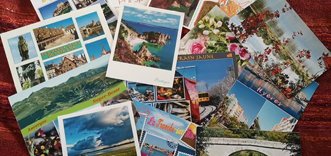 Merci pour vos cartes postales