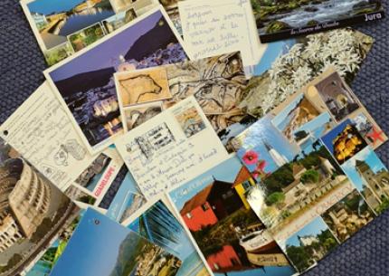 Les cartes postales de l'été
