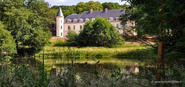 Travaux dans le Parc du Château