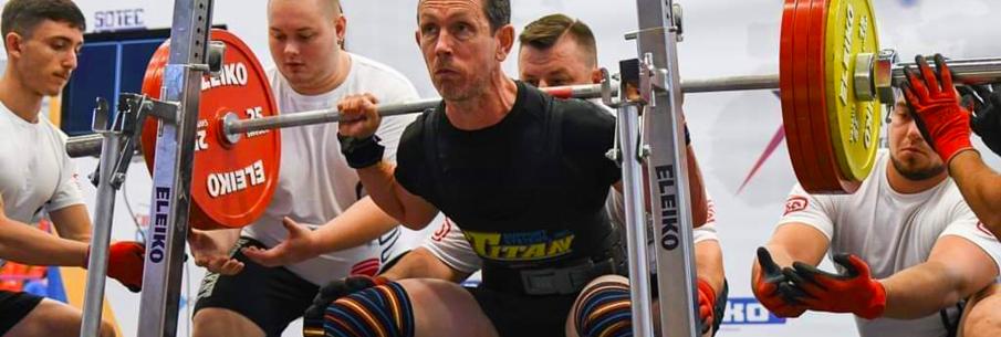 Christophe Chérel, médaillé de bronze de Powerlifting
