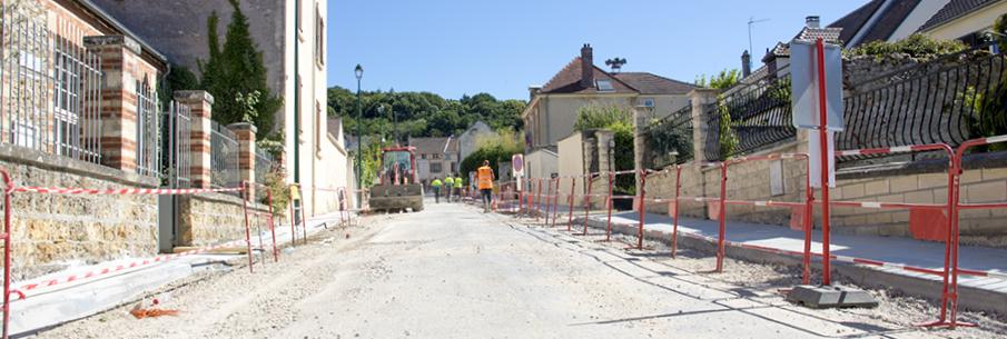 Les travaux de la rue Pasteur touchent à leur fin