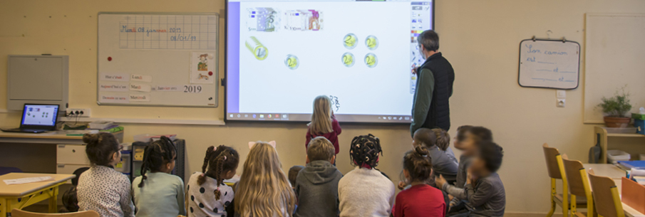 L'interactivité s'invite dans les écoles