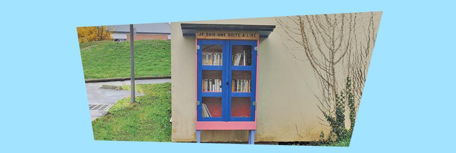 La boîte à lire : partageons la lecture